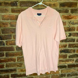 ♦️Izod Men's Pink Polo Shirt Size XL 18